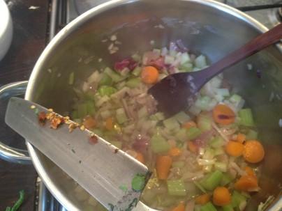 making ribolita
