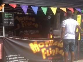 my all time favourite burgers in London. At Brockley market.