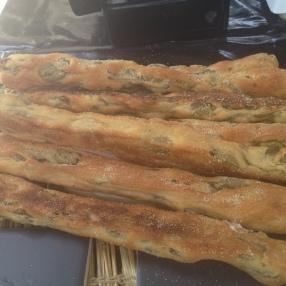 olive bread at Brockley market